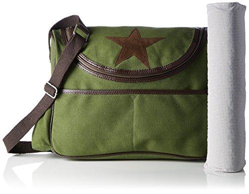 Donna canvas Bags4less Tracolla Borsa Grün grün Wickeltasche A xwSw6q4g