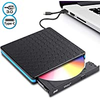 Wsky USB 3.0 Portable CD DVD Drive