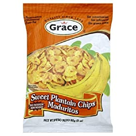 Grace Sweet Plantain Chips 3 Oz