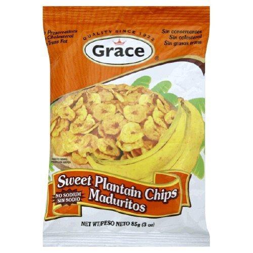 Grace Sweet Plantain Chips 3 Oz