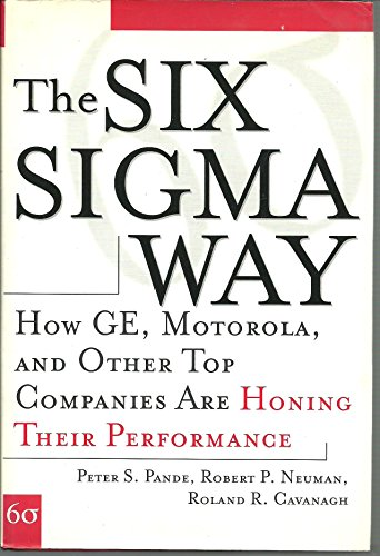 Price comparison product image English Books TheSixSigmaWay: HowGE.Motorola Hardcover