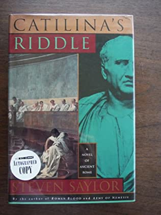 book cover of Catilina\'s Riddle