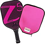 Onix Z5 Graphite Pickleball Paddle and Paddle Cover (Pink)