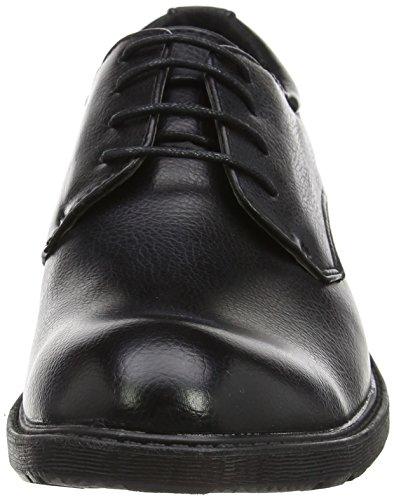 Stringate Nero Basse Spot Uomo Black OnA2128 Scarpe qHtwXwU8