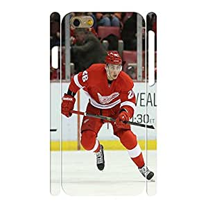 Exquisite Personalized Phone Accessories Print Hockey Player Pattern Skin for Iphone 6 Case - 4.7 Inch