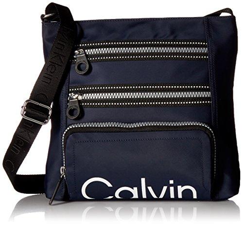 Calvin Klein Calvin Kelin Athleisure Nylon Organizational Crossbody, Navy by Calvin Klein
