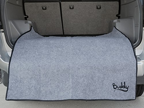 Pay Dirt Car, Truck, SUV Accessory Interior/Exterior Car Bumper Mat by Buddy | Keep Your Clothing Clean & Your Bumper Protected | Machine Washable And Waterproof