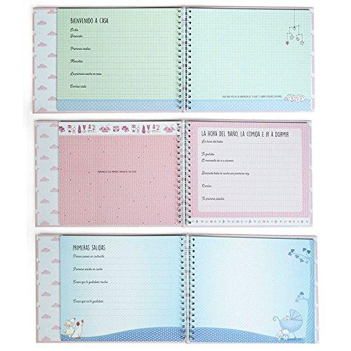 Libro de mi beb/é de Color Rosa