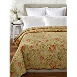 "C&F Home 89872.6886 Ronaldo Twin Cotton Quilt, 64"" by 86"", Multicolor"