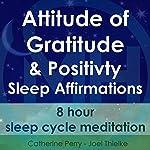 Attitude of Gratitude and Positivity, Sleep Affirmations: 8 Hour Sleep Cycle Meditation   Joel Thielke,Catherine Perry