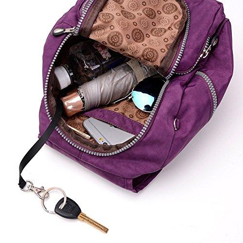 8ea84d0d8227 LifeWheel Womens Summer Mini Backpacks Waterproof Nylon Daypacks Schoolbag  Racksack