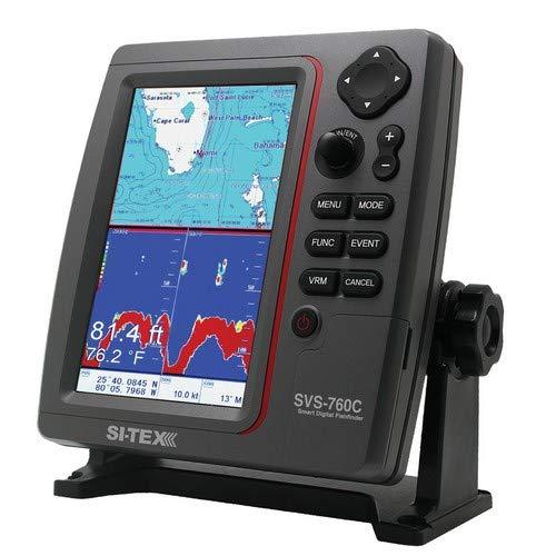 Si-Tex Svs-760c Digital Chartplotter W/Navionics+ Flexible - Chartplotters Sitex