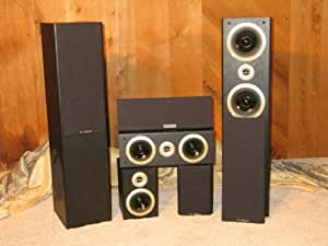 T-Rex Raptor Black Five (5) Speakers Home theatre 5.1 Speaker System