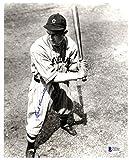 Earl Averill Autographed 8x10 Photo Cleveland Indians Beckett BAS #C01907