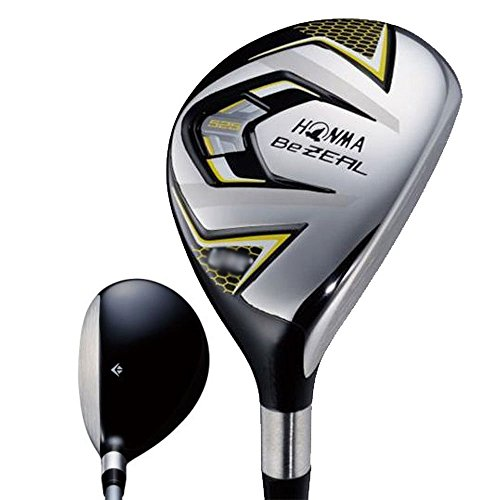 HONMA BeZeal 525 Utility Hybrid 2017 Right 25 Vizard BeZeal 525 Graphite Regular by HONMA GOLF