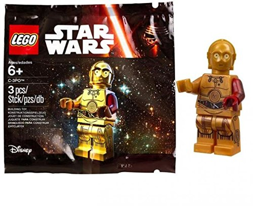 LEGO, Star Wars: The Force Awakens, C-3PO Exclusive Figure (Lego Star Wars The Force Awakens Characters)
