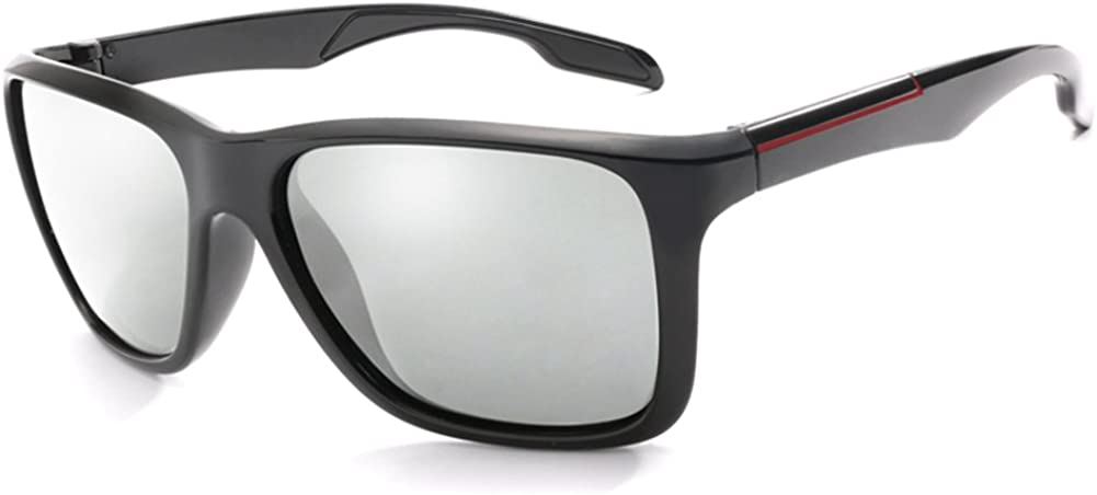 Long Keeper Gafas de sol Fotocromáticas Hombres Mujeres HD Polarizadas Deportes Ciclismo Gafas Gris: Amazon.es: Ropa y accesorios