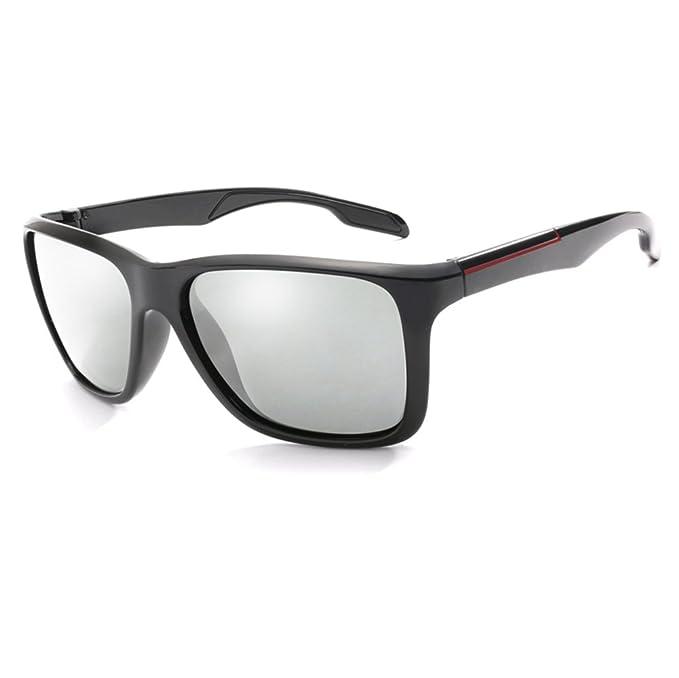 Long Keeper Gafas de sol Fotocromáticas Hombres Mujeres HD Polarizadas Deportes Ciclismo Gafas Gris
