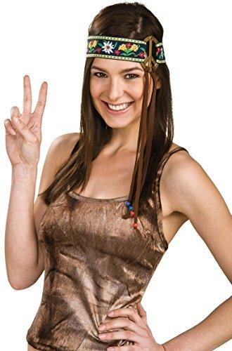 Rubie's Unisex-Adult's Peace Sign Headband, Multicolor, One Size