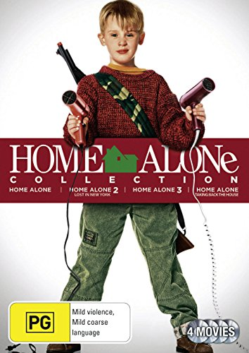 Home Alone Family Collection [Home Alone + Home Alone 2 - Lost in New York + Home Alone 3 + Home Alone - Taking Back the House] [NON-USA Format / PAL / Region 4 Import - Australia] (Home Alone 4 Taking Back The House)
