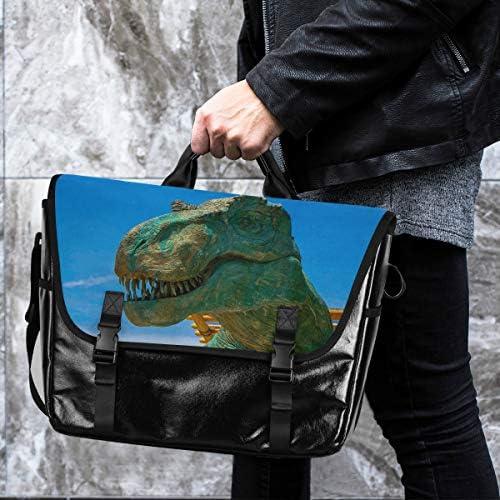 メッセンジャーバッグ メンズ 恐竜 欧米風 クール 斜めがけ 肩掛け カバン 大きめ キャンバス アウトドア 大容量 軽い おしゃれ