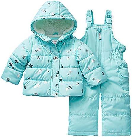 Carters Girls Heavyweight 2-Piece Skisuit Snowsuit
