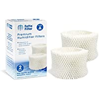 Fette Filter 2-Pack Humidifier Wicking Filters. Compatible HAC-504AW, Filter A