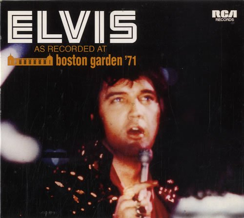 Elvis: As Recorded At Boston Garden '71 by Sony Music / Follow That Dream Records