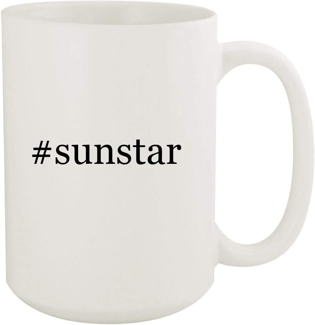 #sunstar - 15oz Hashtag White Ceramic Coffee Mug
