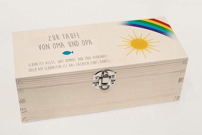 Geldgeschenk Taufegeschenkbox Taufetaufe Jungetaufe