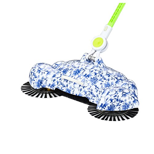 Manual Sweeping Machine, Inkach 360 Rotary Home Floor Dust Hair Sweeper Hand Push Magic Telescopic Household Brooms by Inkach (Image #2)