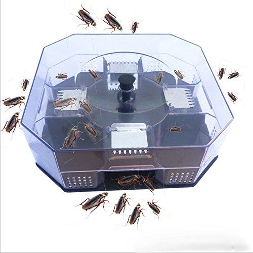 BAODELI Large Reusable Automatic Cockroach Trap Efficient Bug Catcher Pest Control Box