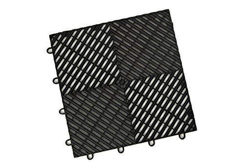IncStores Vented Grid-Loc Tiles 12inx12inx1/2in...