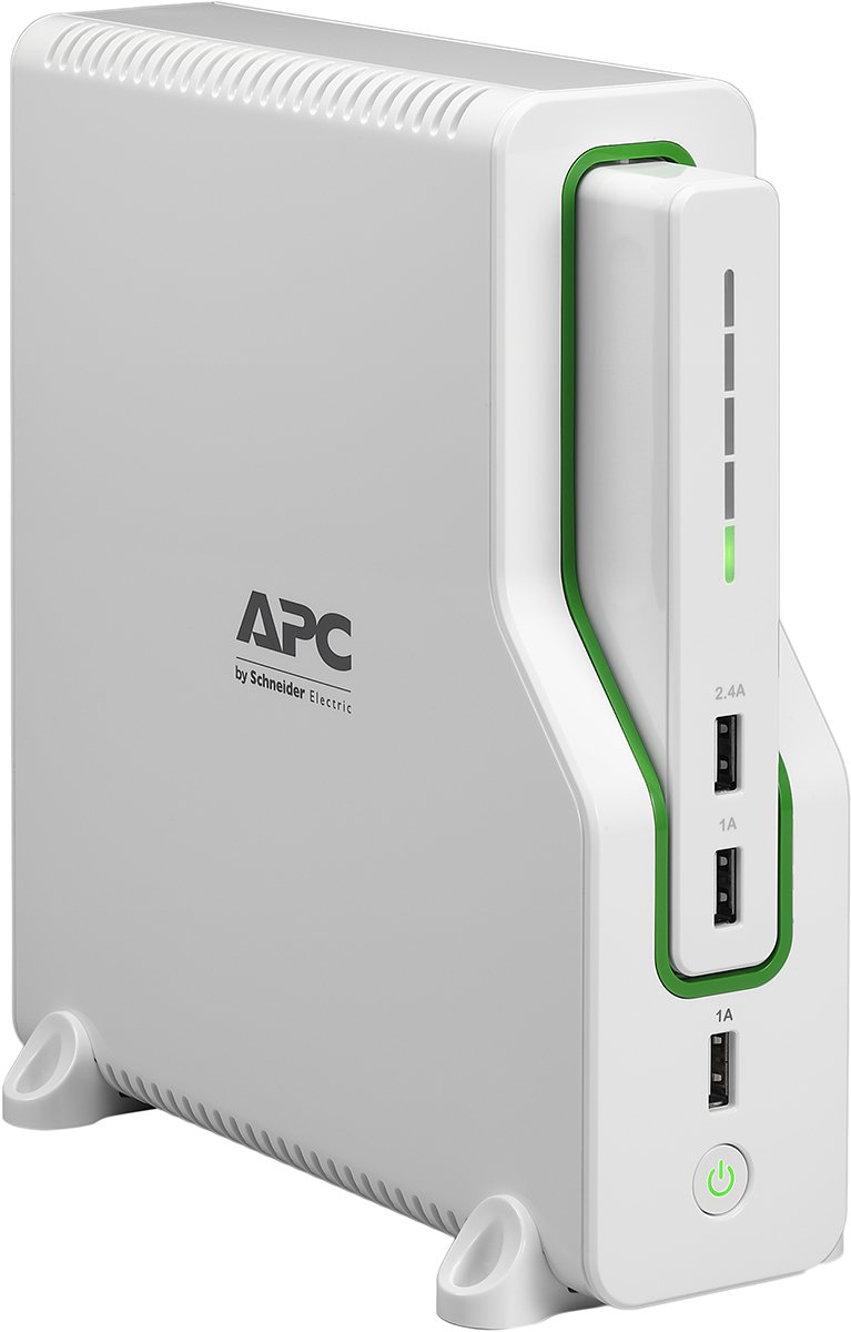 APC Back-UPS Connect Lithium Ion UPS with Mobile Power Pack, USB Charging Ports for Echo and Network Routers (BGE50ML) by APC