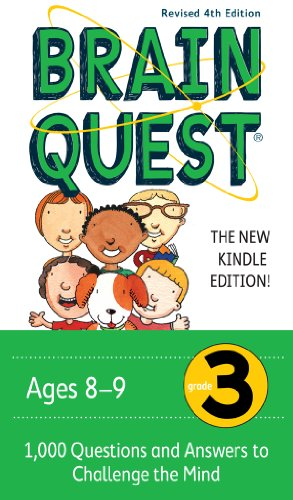 Brain Quest Grade 3, revised 4th edition: 1,000 Questions and Answers to Challenge the Mind (Brain Quest Decks) -