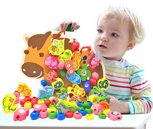 Onshine Wooden Toddlers Colorful Learning