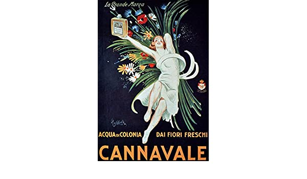 Amazon.com: Quality poster in Paper or Canvas.Cannavale french cologne.Carnival perfume: Posters & Prints