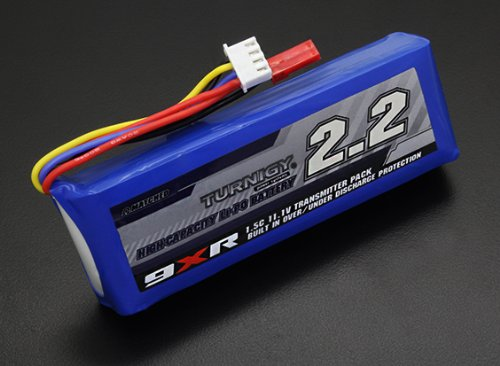 Turnigy 9XR Safety Protected 11.1v (3s) 2200mAh 1.5C Transmitter Pack ()
