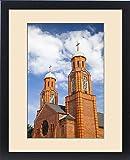 Framed Print of USA, Louisiana, Breaux Bridge. Crawfish Capital of the World, St. Bernard