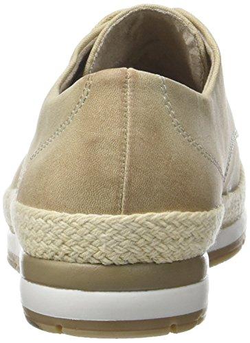409 de Zapatos 23603 Dune para Antic Beige Oxford Mujer Tozzi Marco Cordones wqU7P7