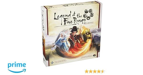 Asmodee Fantasy Flight Games ffgl5 C01 Leyenda de los Cinco Anillos Juego de Cartas