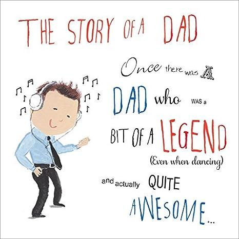 Twizler Day Card Dad Biglietto Per Festa Del Papà Papà