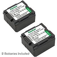 Kastar Battery 2 Pack for Panasonic VW-VBG130 & Panasonic Lumix DMC-L10, HDC-HS250, HDC-HS300, HDC-HS700, HDC-SD10, HDC-SD600, HDC-SD700, HDC-SDT750, HDC-TM10, HDC-TM15, HDC-TM300, HDC-TM700, SDR-H80