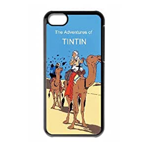 iPhone 5c Cell Phone Case Black TinTin cartoon VGX Design 3D Cell Phone Case