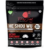 VitaJing He Shou Wu Powder Extract ORGANIC 20:1 CONCENTRATION (4oz - 114gm) Prepared Fo-Ti