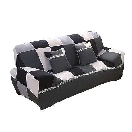 Urijk Cubierta de sofá Funda de sofá Protector sofa de mascotas Cubierta de sofá individual 2 plazas 3 plazas 4 plazas Funda de cojín