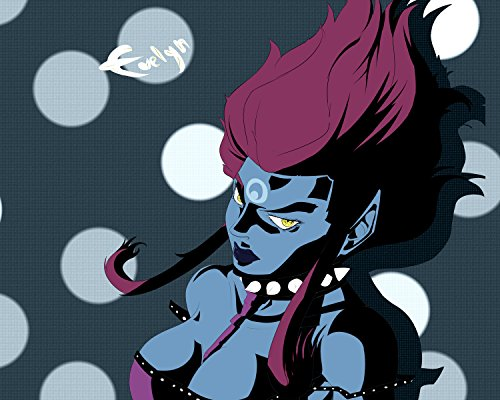 Evelynn poster League of Legends Hero 9 LoL Art Print Gamers Wall Decor