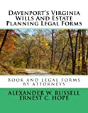 Davenport's Virginia Wills And Estate Planning Legal Forms
