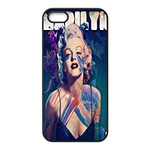 Cool Painting Monroe Custom Cover Case for Iphone 5,5S,diy phone case case-344726
