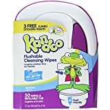 Kandoo Flushable Wipes Sensitive 50 Ct (2 Pack)